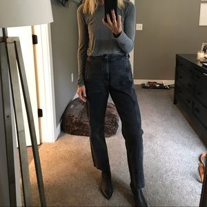 Rachel comey washed black jean/trouser 0